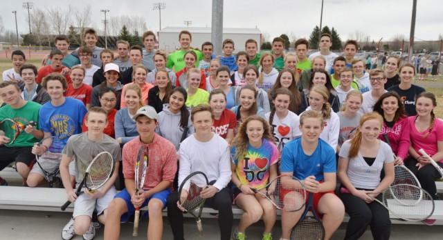 Madison Tennis Making Racket in HCC
