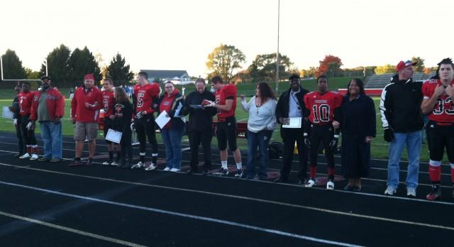 Senior Night:Football Players