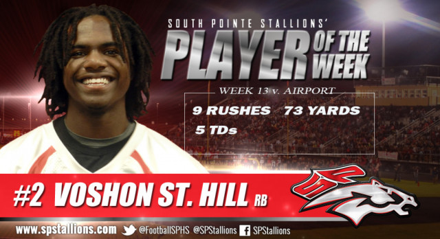 Player of the Week vs. Airport