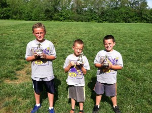 Punt, Pass, Kick 1st grade winners