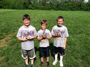 Punt, Pass, Kick 2nd grade winners