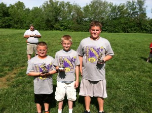 Punt, Pass, Kick 4th grade winners