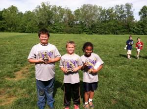 Punt, Pass, Kick 3rd grade winners
