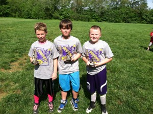 Punt, Pass, Kick 5th grade winners