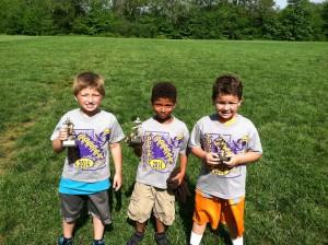 Punt, Pass, Kick Kindergarten Winners
