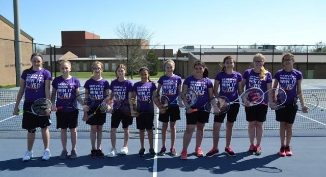 Lady Musketeers Tennis