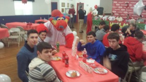 Baseball Team with Reds 1