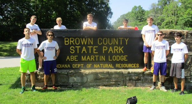 Boys XC Attends Annual Running Camp at Brown County
