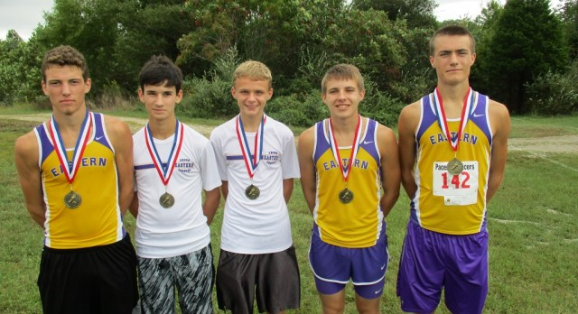 Boys Varsity Cross Country Finishes 6th place Out of 31 Teams at Crawford County Invitational