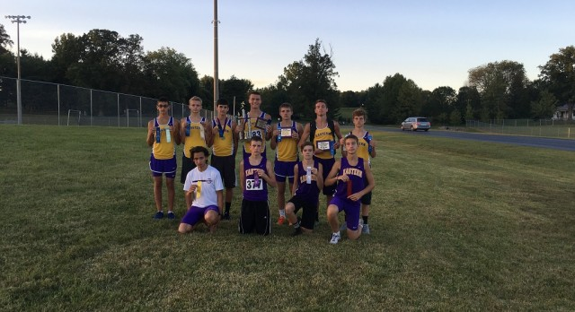Boys Cross Country Finishes in 1st Place at the Eastern Invitational
