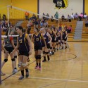 8th grade volleyball Borden 8-22-16