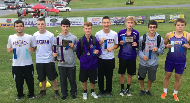 Boys Varsity Cross Country Finishes 1st in the Eastern Invitational