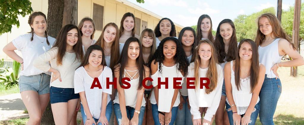 2017-2018 Cheer team