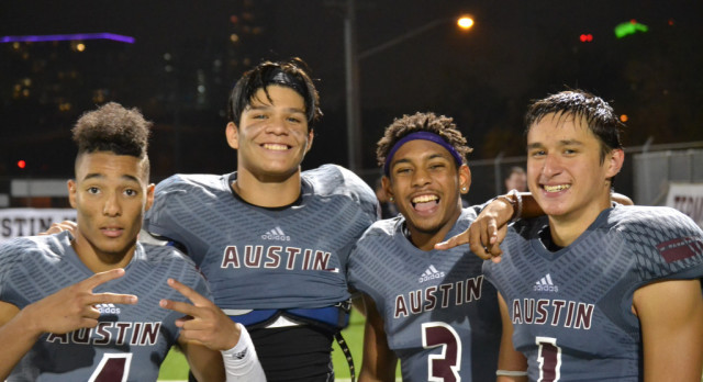 Austin High Football JV Game Update