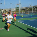 Day 2 of Tennis Tryouts