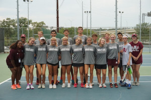 Varsity Tennis Team