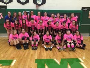 Volleyball Cancer Awareness