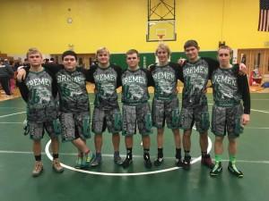 Senior Wrestlers