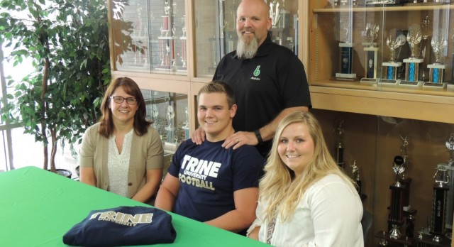 Campbell Commits to Trine University