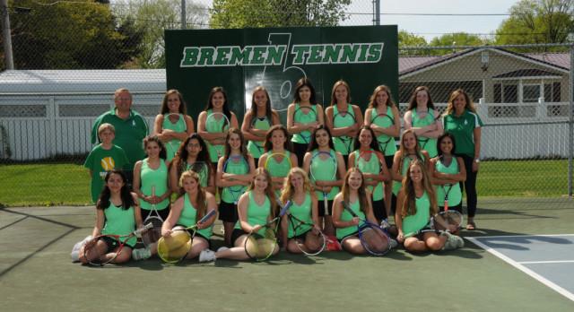 NIC Honors Bremen Tennis