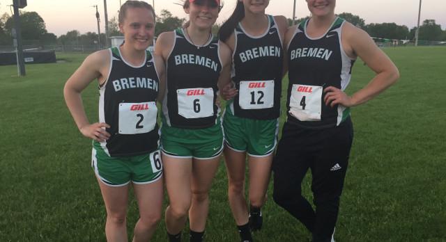Bremen High School Girls Varsity Track finishes 3rd place