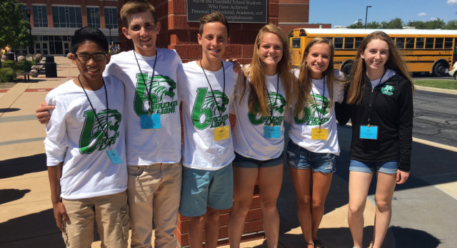Lions Attend IHSAA Leadership Conference