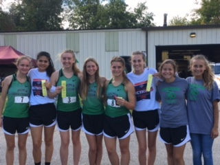 4th Place Regional Qualifiers- Rachel Hall, Natalie Gutierrez, Riley Gilmer, Katie Barnes, Emma Hundt, Makayla Mahoney, Jasmine Gramm, Courtney Lawmaster