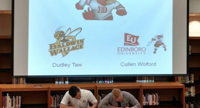 Taw & Wolford Commit to Baldwin Wallace & Edinboro