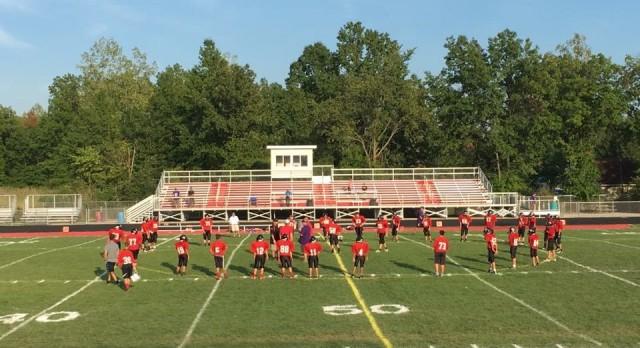 Middle School Football Tames Wildcats