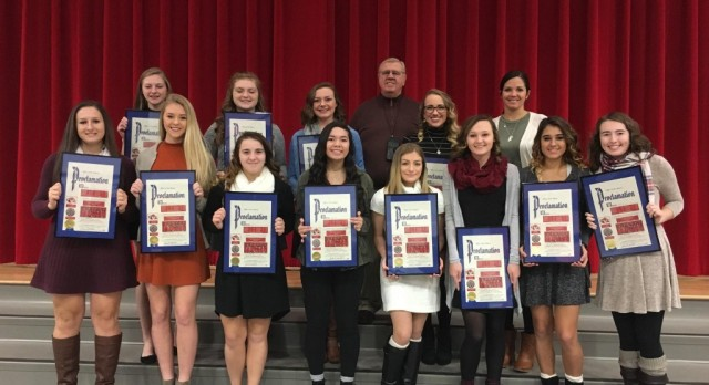 Volleyball Banquet concludes a successful season!