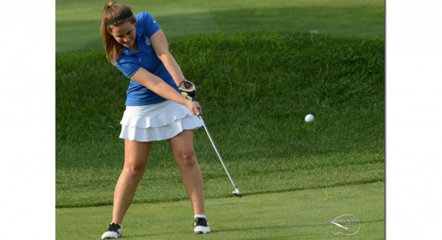 Batesville High School Girls Varsity Golf falls to Columbus East High School 190-204