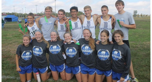 BHS boys place fifth at CC regional to advance