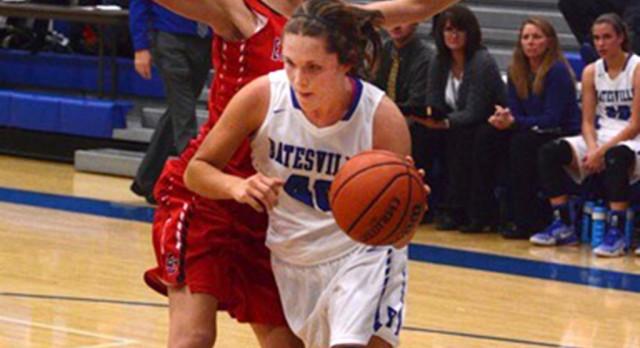 Batesville High School Girls Varsity Basketball falls to East Central High School 43-35