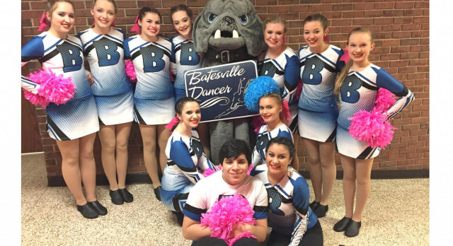 BHS dance team competes at Lawrenceburg