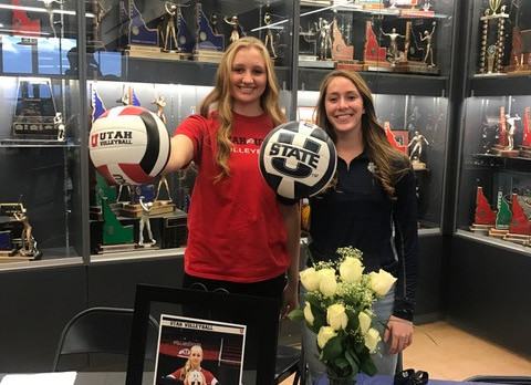 Twin Falls Volleyball players sign with Utah D-I schools