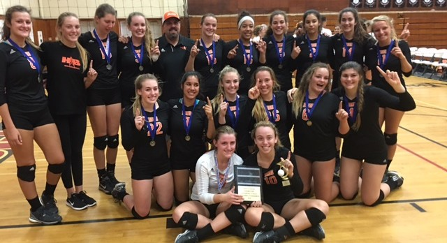 Varsity Girls Volleyball are Tournament Champions!!