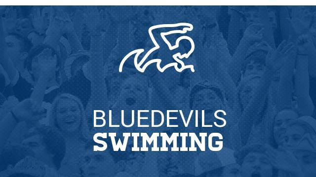 Swimmer Hayley Mason breaks 2 school records @ Blue Devil Invitational!