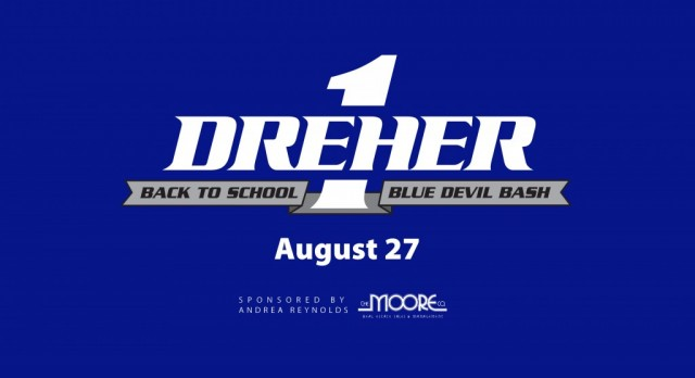 Tickets on Sale Now: One Dreher Blue Devil Bash