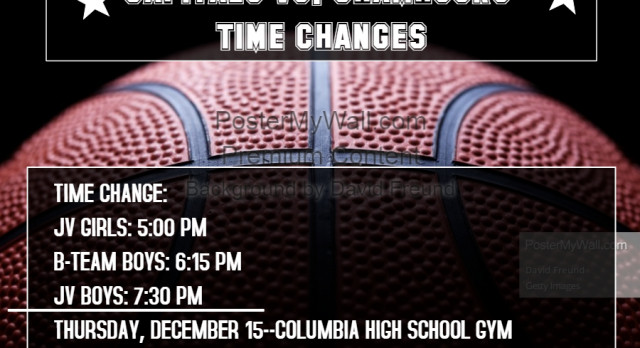 Time Change JV Basketball