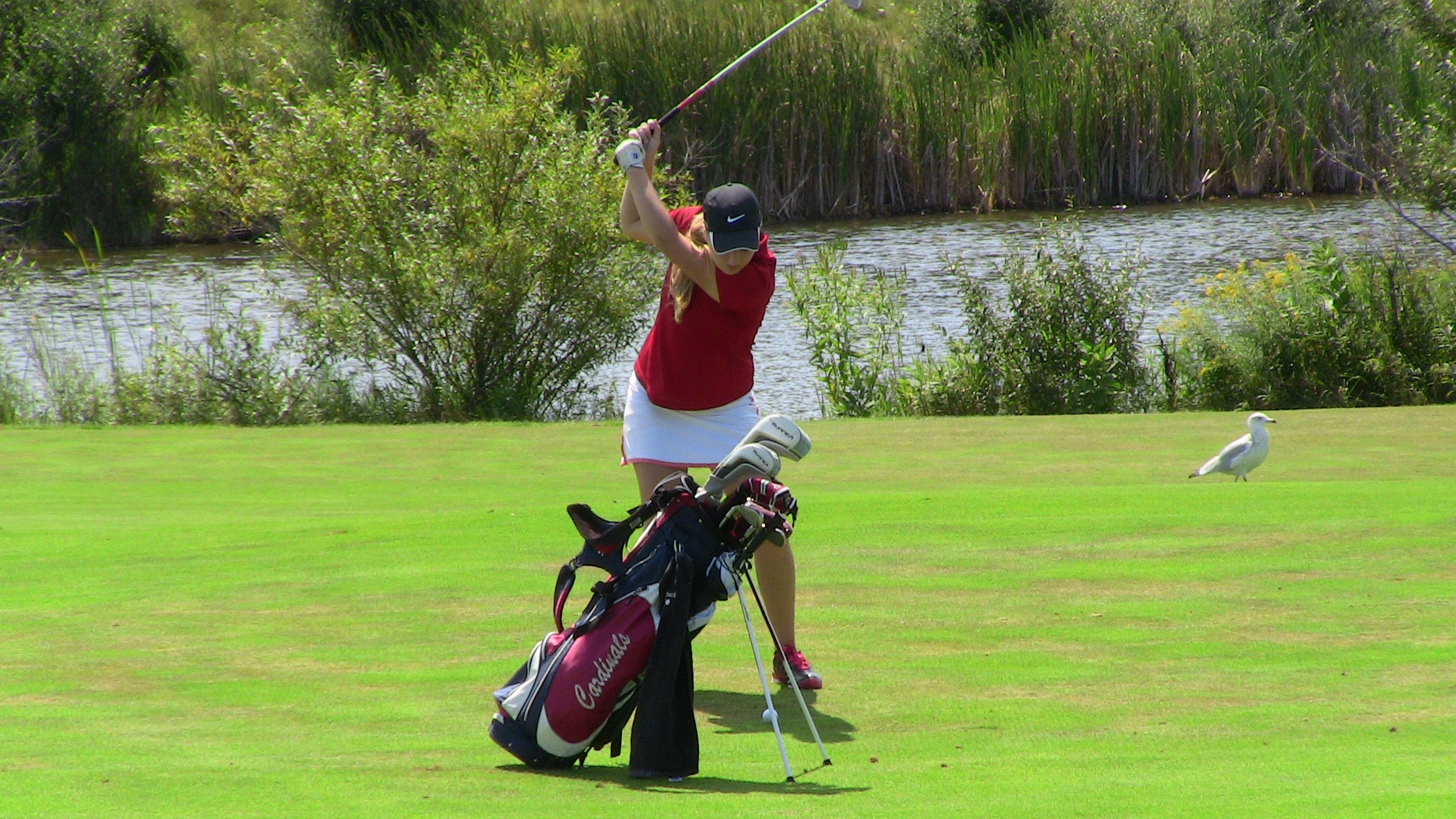 Cardinal Girls Golf Takes First