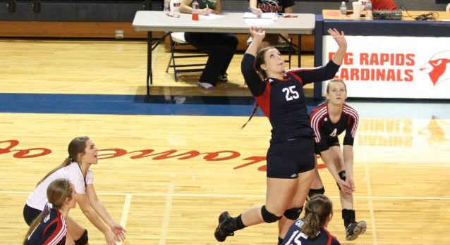 Cardinal Volleyball Ends Regular Season With Win
