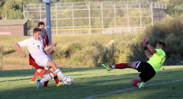 Cardinal Soccer Wins Big on Senior Night