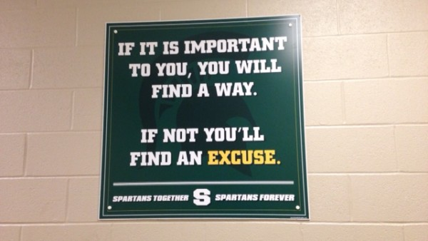 Athletic Locker Room Signs