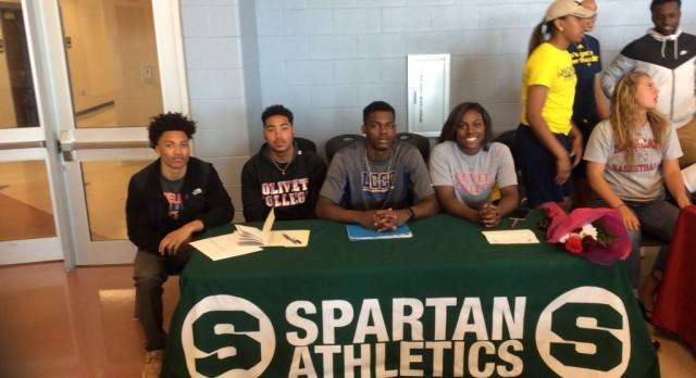 Start Seniors attend TPS Signing Day