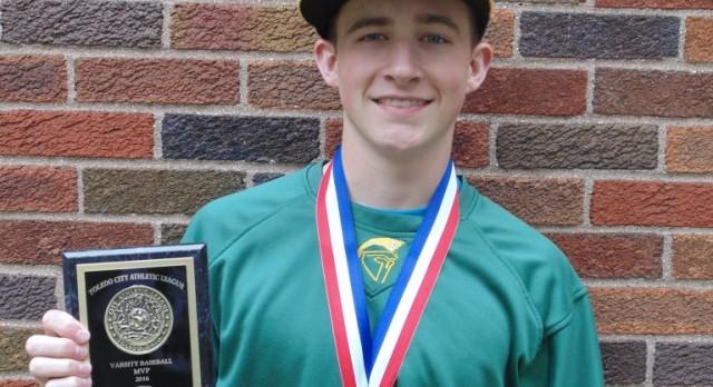 Ethan Pennywitt named City League Baseball Final Four MVP