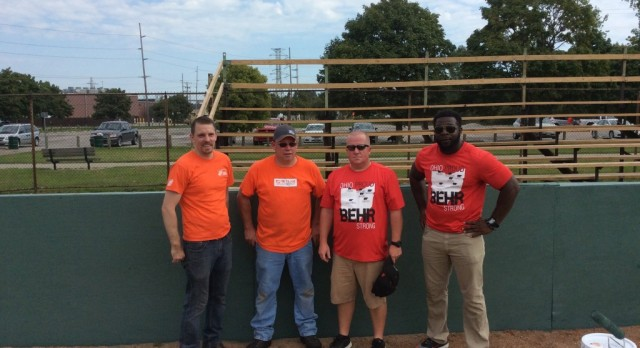 Behr Paint and Home Depot Donate to Baseball Project