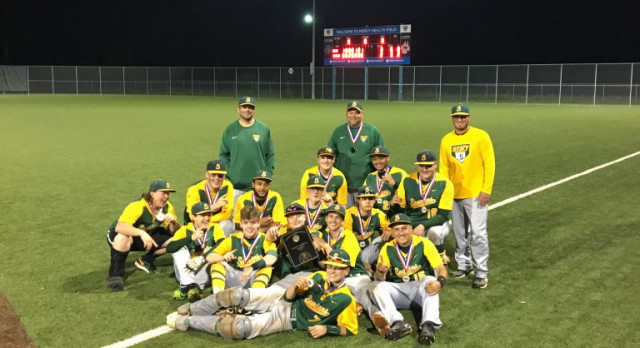 Varsity Baseball wins 5th City Title in a Row