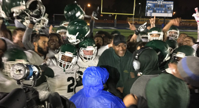 Spartans persevere to win 3rd consecutive City Title