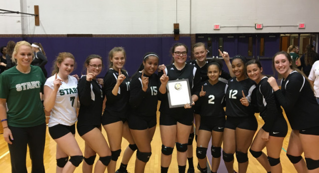 JV Volleyball wins City Title