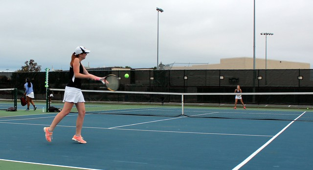 Tennis Rallies but Falls Short to Totino-Grace